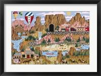 Framed Canyon Express