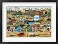 Framed Lehi Valley