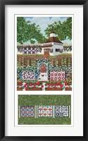 Framed Carriage House Garden