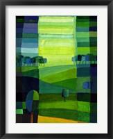 Framed Green Hills