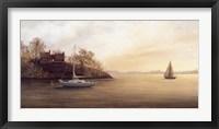 Framed Lakeside Serenity