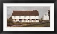 Framed Amish Country I