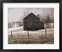 Framed Mail Pouch Barn