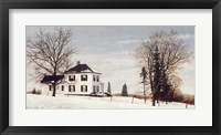 Framed Country Manor House
