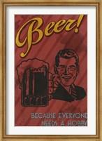 Framed Beer Hobby