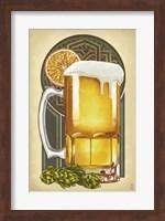 Framed Beer Mug Large
