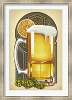 Framed Beer Mug Large
