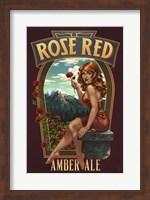 Framed Rose Red Amber Ale
