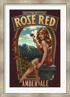 Framed Rose Red Amber Ale