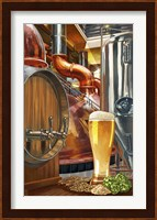 Framed Beer Distillery