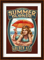 Framed Summer Blonde Golden Ale