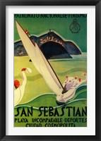 Framed San Sebastian Spanish