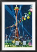 Framed Seattle World's Fair 1962 I