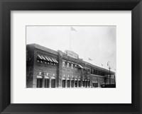 Framed Fenway Ball Park Exterior