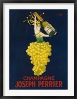 Framed Joseph Perrier Champagne