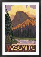 Framed Yosemite National Park Scene II