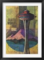 Framed Seattle World's Fair 1962 II
