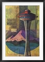 Framed Seattle World's Fair 1962 II