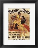 Framed Theatre De L'Opera French