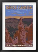 Framed Bryce Canyon