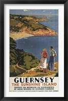 Framed Guernsey Island