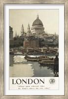 Framed London St. Paul's Ad