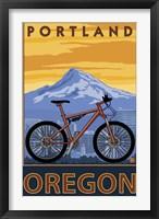 Framed Portland Oregon Bike Ad