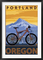 Framed Portland Oregon Bike Ad