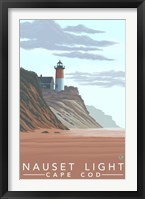 Framed Nauset Light Cape Cod