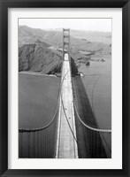 Framed Gold Gate Bridge Photo