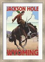 Framed Jackson Hole Wyoming