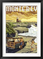 Framed Monterey (Surfing)