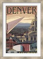 Framed Denver Colorado Ad