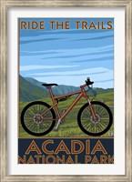 Framed Ride The Trails Acadia Park