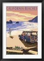 Framed Californa Beaches