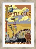 Framed Santa Cruz Boardwalk