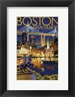 Framed Boston Massachusetts Paul Revere