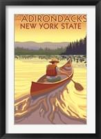 Framed Adirondacks New York
