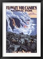 Framed Hawaii Volcanoes National Park