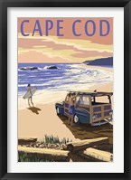 Framed Cape Cod Surf