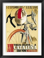 Framed Vuelta Ciclista XXIII Cataluna Bicycle