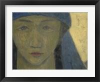 Framed Head Of A Breton Woman, 1908