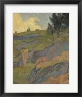 Framed Breton Eve, Or Melancholy, 1891