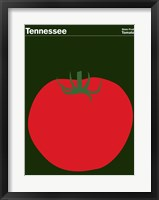 Framed Montague State Posters - Tennessee