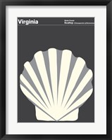 Framed Montague State Posters - Virginia