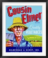 Framed Cousin Elmer