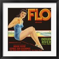 """Framed """"""""FLO"""""""" Brand Citrus"""