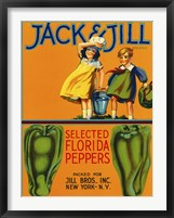 Framed Jack & Jill Brand Peppers
