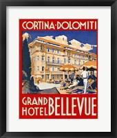 Framed Cortina-Dolomiti, Grand Hotel Bellevue