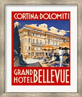 Framed Cortina-Dolomiti, Grand Hotel Bellevue
